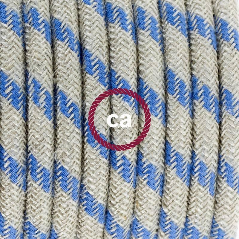 Einzelpendel, Hängelampe Stripes Blau RD55