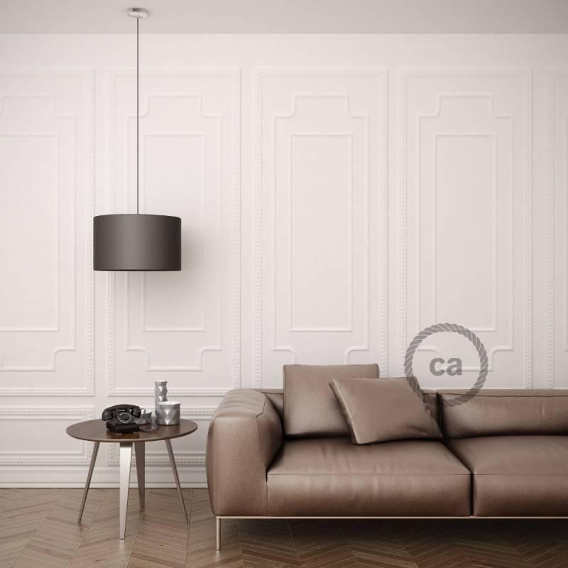 Pendel für Lampenschirm, Hängelampe Stripes Ancient Pink RD51