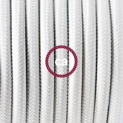 Porzellan Pendelleuchte, Hängelampe Weiß Seideneffekt RM01