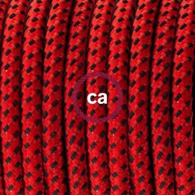 Porzellan Pendelleuchte, Hängelampe Red Devil 3D RT94