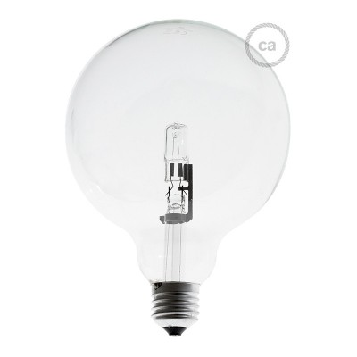 Halogenglühbirne Globo 126  28 W dimmbar E27