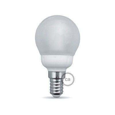 LED-Glühbirne 4W E14, milch kugelförmig