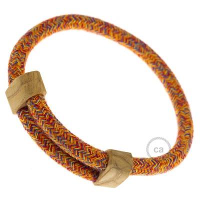 Armband aus Baumwolle Farbe: Indian Summer RX07 Verschluss: verstellbar