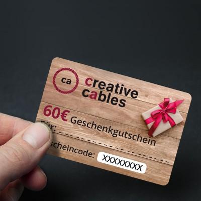 60 € Geschenkgutschein
