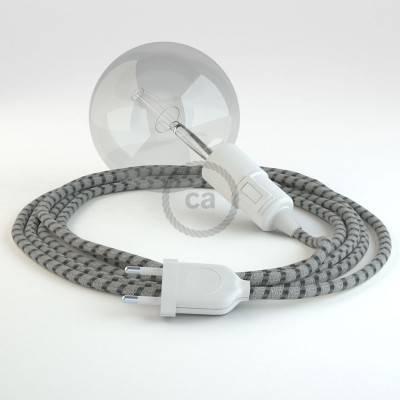 Kreieren sie ihre Snake Leuchte mit dem RD54 Stripes Antrazit und erleuchten sie ihre Umgebung.