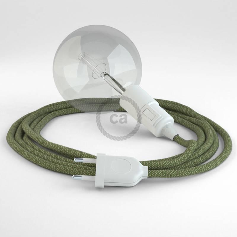 Kreieren sie ihre Snake Leuchte mit dem RD72 Zick Zack Grün Thyme und erleuchten sie ihre Umgebung.
