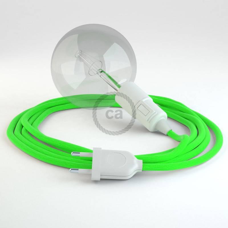 Kreieren sie ihre Snake Leuchte mit dem RF06 Grün Fluo und erleuchten sie ihre Umgebung.
