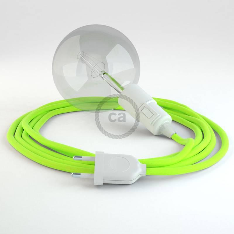Kreieren sie ihre Snake Leuchte mit dem RF10 Gelb Fluo und erleuchten sie ihre Umgebung.
