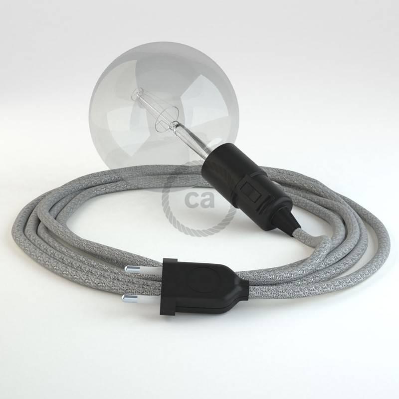 Kreieren sie ihre Snake Leuchte mit dem RL02 Geglittert Silber und erleuchten sie ihre Umgebung.