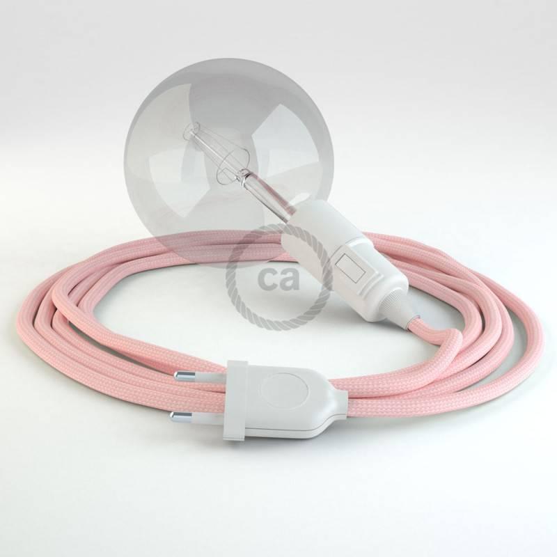 Kreieren sie ihre Snake Leuchte mit dem RM16 Baby Pink Seideneffekt und erleuchten sie ihre Umgebung.