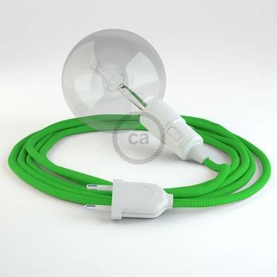 Kreieren sie ihre Snake Leuchte mit dem RM18 Grün Lime Seideneffekt und erleuchten sie ihre Umgebung.
