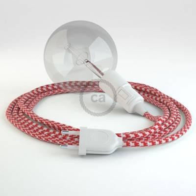 Kreieren sie ihre Snake Leuchte mit dem RP09 Zweifarbig ot Rot und erleuchten sie ihre Umgebung.