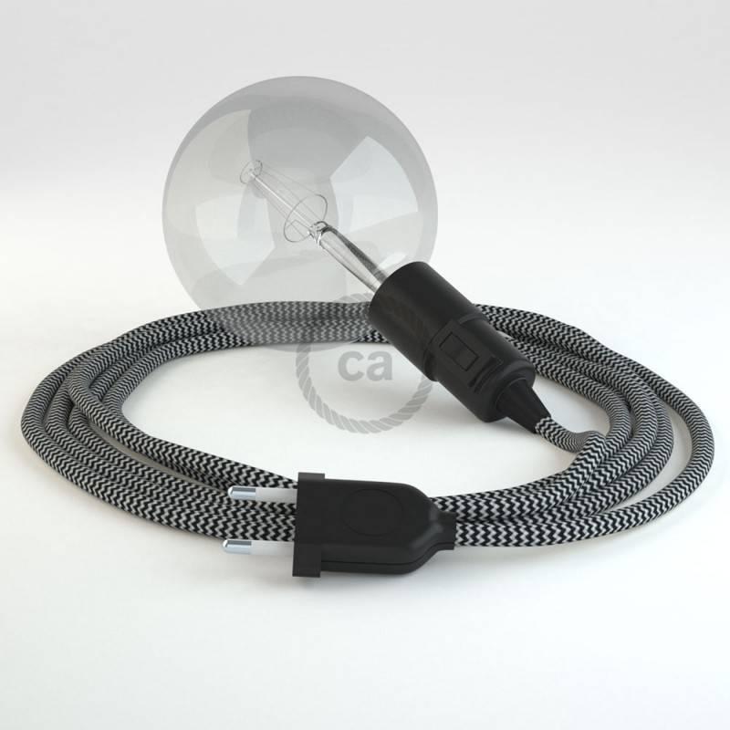 Kreieren sie ihre Snake Leuchte mit dem RZ04 Zick Zack Schwarz und erleuchten sie ihre Umgebung.
