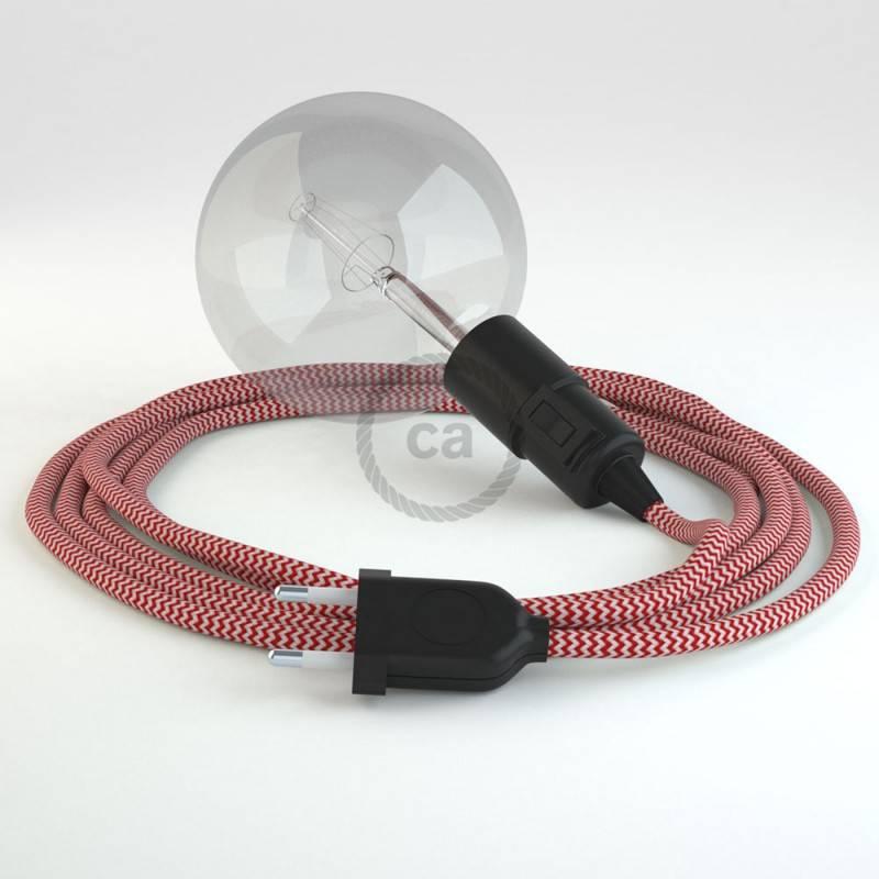 Kreieren sie ihre Snake Leuchte mit dem RZ09 Zick Zack Rot und erleuchten sie ihre Umgebung.