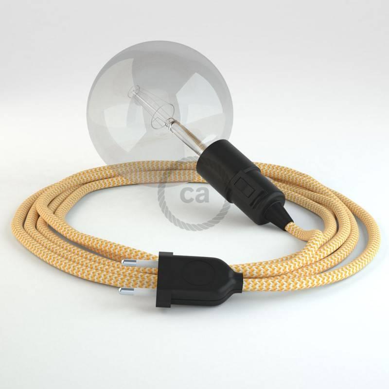Kreieren sie ihre Snake Leuchte mit dem RZ10 Zick Zack Gelb und erleuchten sie ihre Umgebung.