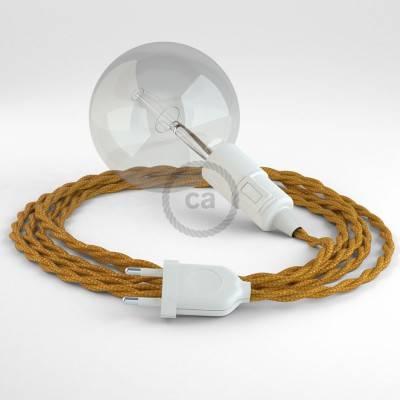 Kreieren sie ihre Snake Leuchte mit dem TM05 Gold Seideneffekt und erleuchten sie ihre Umgebung.