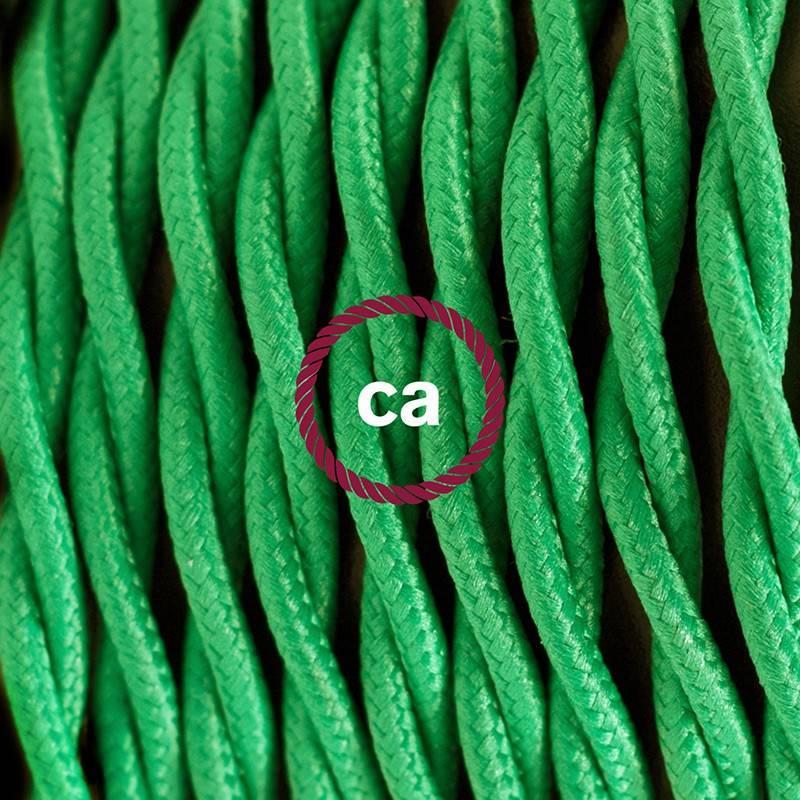 Kreieren sie ihre Snake Leuchte mit dem TM06 Grün Seideneffekt und erleuchten sie ihre Umgebung.