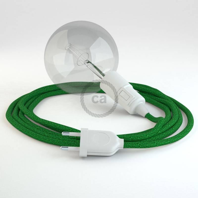 Kreieren sie ihre Snake Leuchte mit dem RL06 Grün Geglittert und erleuchten sie ihre Umgebung.