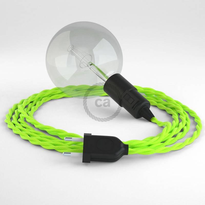 Kreieren sie ihre Snake Leuchte mit dem TF10 Gelb Fluo und erleuchten sie ihre Umgebung.