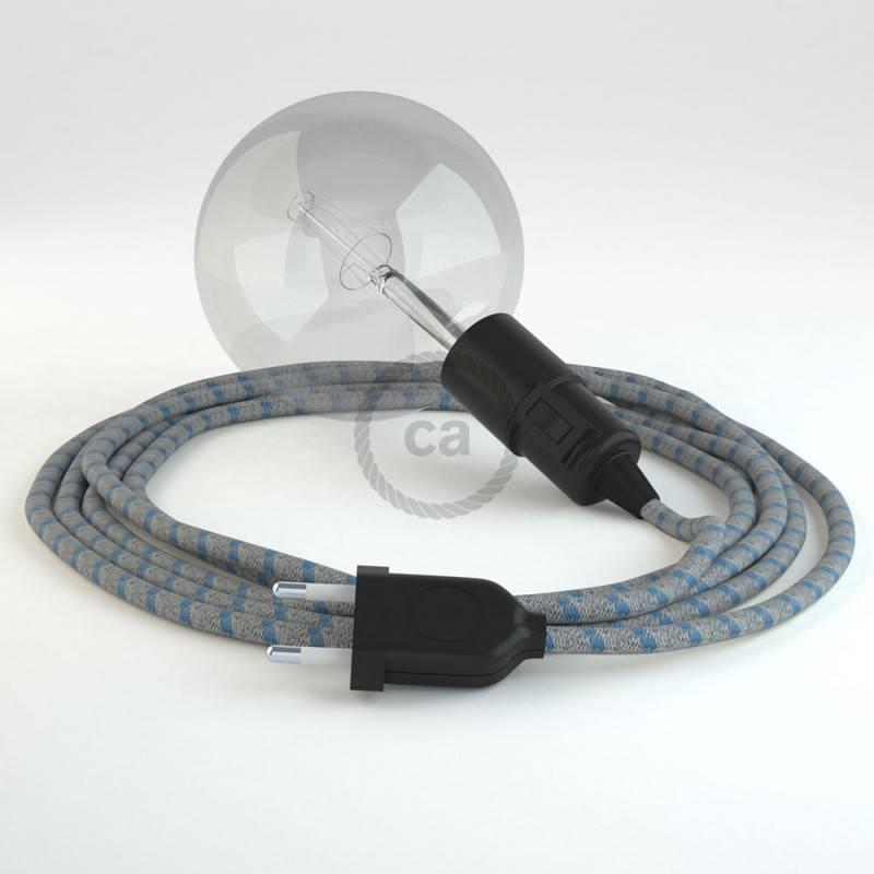 Kreieren sie ihre Snake Leuchte mit dem RD55 Stripes Blau und erleuchten sie ihre Umgebung.