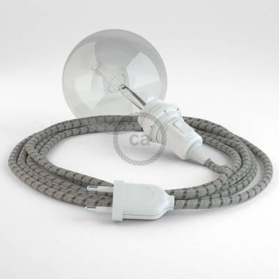 Kreieren sie ihre Snake Lampenschirm Leuchte mit dem RD53 Stripes Bark und erleuchten sie ihre Umgebung.