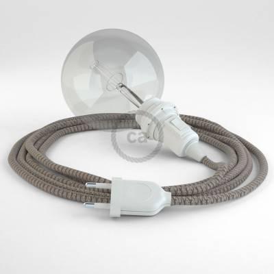 Kreieren sie ihre Snake Lampenschirm Leuchte mit dem RD63 Raute Bark und erleuchten sie ihre Umgebung.
