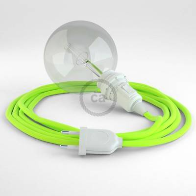 Kreieren sie ihre Snake Lampenschirm Leuchte mit dem RF10 Gelb Fluo und erleuchten sie ihre Umgebung.