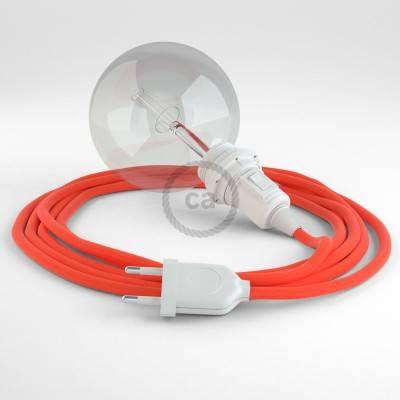 Kreieren sie ihre Snake Lampenschirm Leuchte mit dem RF15 Orange Fluo und erleuchten sie ihre Umgebung.