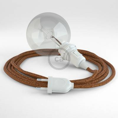 Kreieren sie ihre Snake Lampenschirm Leuchte mit dem RL22 Geglittert Kupfer und erleuchten sie ihre Umgebung.