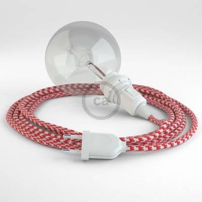 Kreieren sie ihre Snake Lampenschirm Leuchte mit dem RP09 Zweifarbig ot Rot und erleuchten sie ihre Umgebung.