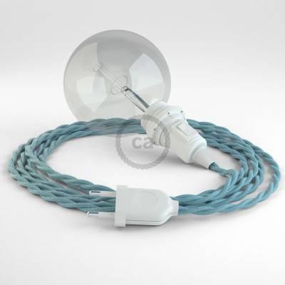 Kreieren sie ihre Snake Lampenschirm Leuchte mit dem TC53 Ocean Baumwolle und erleuchten sie ihre Umgebung.