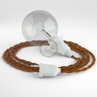 Kreieren sie ihre Snake Lampenschirm Leuchte mit dem TM22 Whiskey Seideneffekt und erleuchten sie ihre Umgebung.
