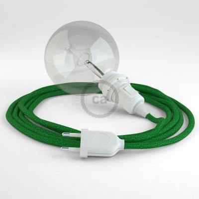 Kreieren sie ihre Snake Lampenschirm Leuchte mit dem RL06 Grün Geglittert und erleuchten sie ihre Umgebung.