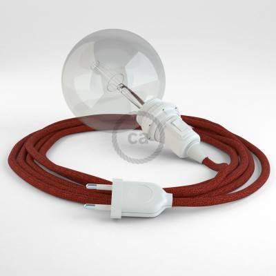 Kreieren sie ihre Snake Lampenschirm Leuchte mit dem RL09 Rot Geglittert und erleuchten sie ihre Umgebung.