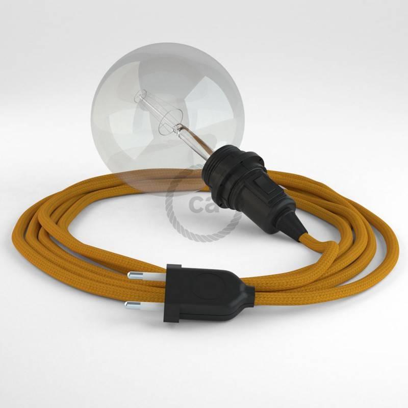 Kreieren sie ihre Snake Lampenschirm Leuchte mit dem RM25 Senf Seideneffekt und erleuchten sie ihre Umgebung.