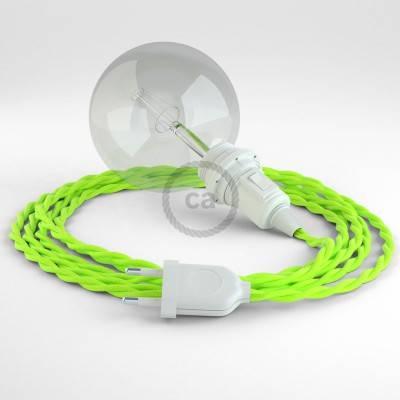Kreieren sie ihre Snake Lampenschirm Leuchte mit dem TF10 Gelb Fluo und erleuchten sie ihre Umgebung.