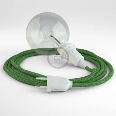 Kreieren sie ihre Snake Lampenschirm Leuchte mit dem RX08 Bronte Baumwolle und erleuchten sie ihre Umgebung.