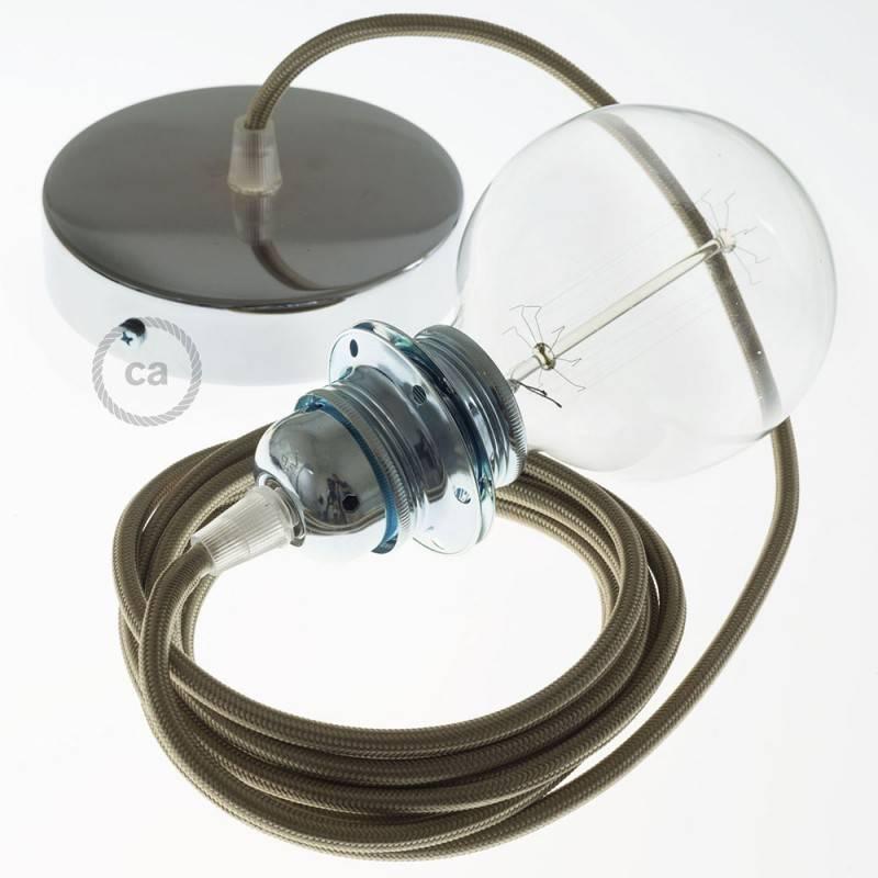 pendel f r lampenschirm h ngelampe cipria seideneffekt rm27. Black Bedroom Furniture Sets. Home Design Ideas