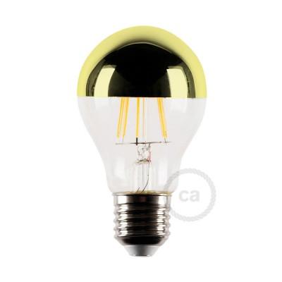 LED-Glühbirne 4W E27, gold Kugel, Vintage 2700K