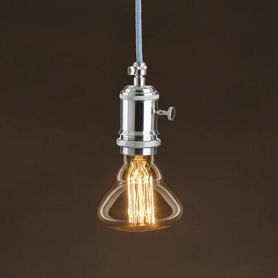Vintage Glühbirne gold BR95 vertikaler Kohlefaden 30W E27 dimmbar 2000K