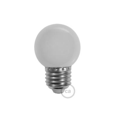 LED-Glühbirne Globo G45 1W E27 2700K - Farbe Weiß