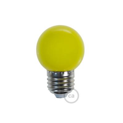 LED-Glühbirne Globo G45 1W E27 2700K - Farbe Gelb