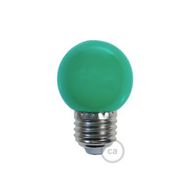 LED-Glühbirne Globo G45 1W E27 2700K - Farbe Grün