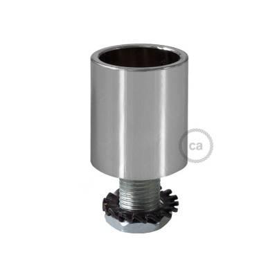 Metallklemme chrom für Creative-Tube 16 mm, komplett mit Zubehör