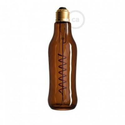 LED-Glühbirne 8W E27, braun Beer, Vintage 1800K, dimmbar