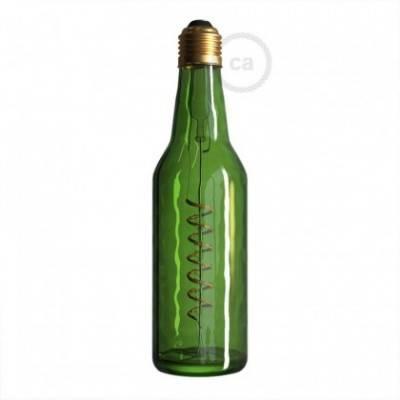 LED-Glühbirne 8W E27, grün Beer, Vintage 2800K, dimmbar