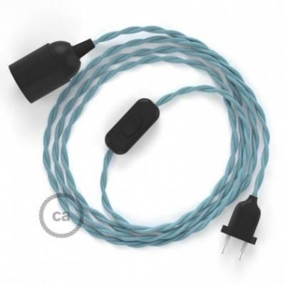 SnakeBis Leuchten-Zuleitung mit Textilkabel Ocean Baumwolle TC53