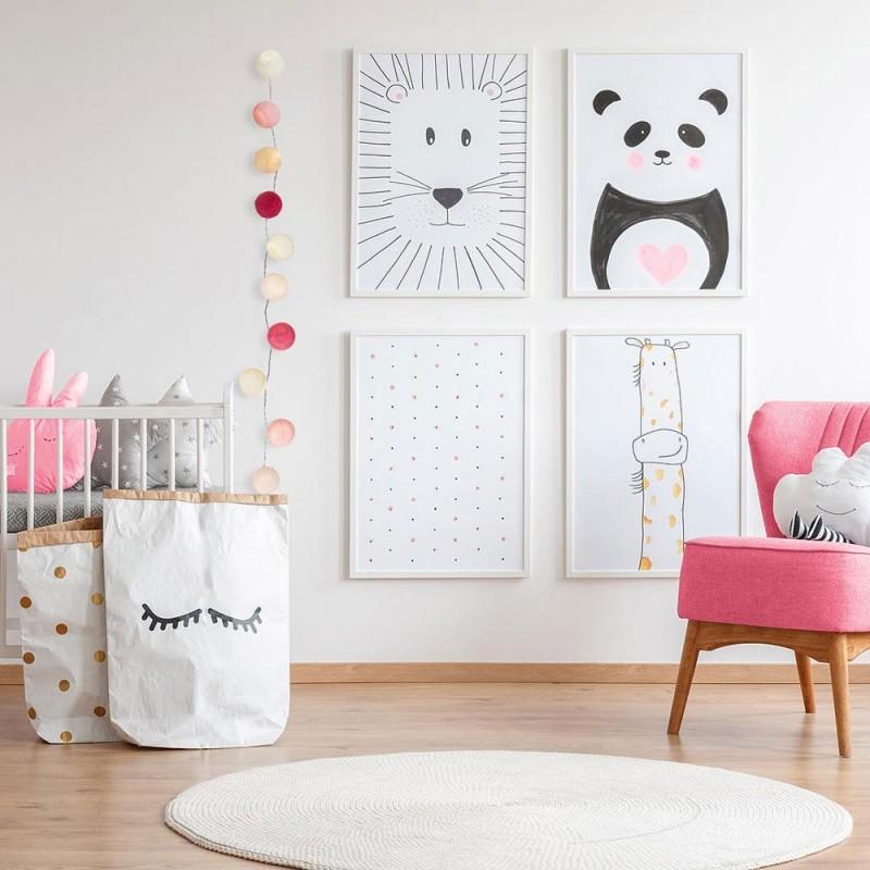Box Kinderleuchtkette La petite case Louise