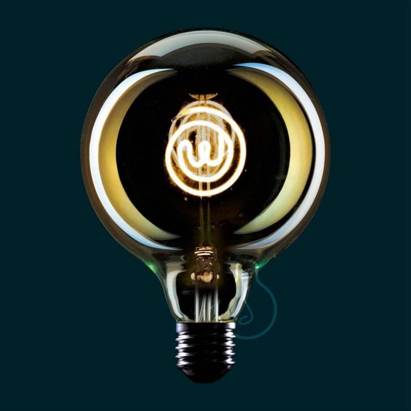 led gl hbirne globus g125 masterchef line logo 4w e27. Black Bedroom Furniture Sets. Home Design Ideas