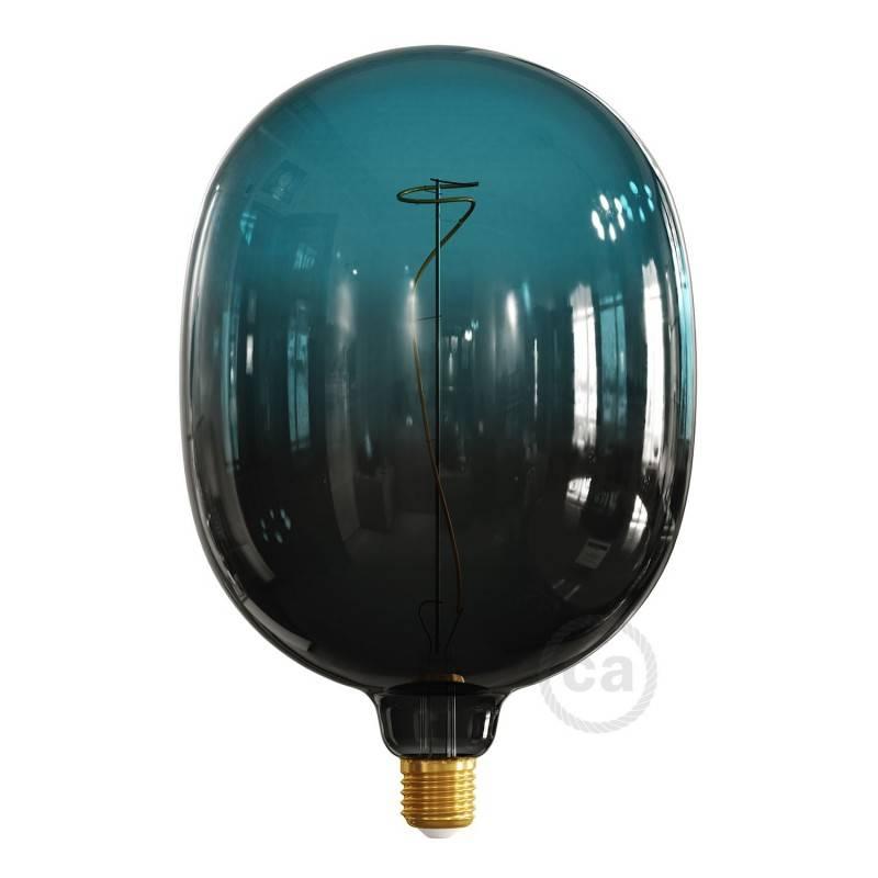LED-Glühbirne Egg Abenddämmerung (Dusk) geschwungenes Filament 4W E27 dimmbar 2200K